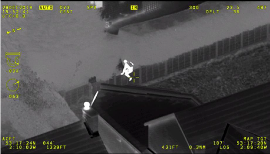 Helicopter CCTV